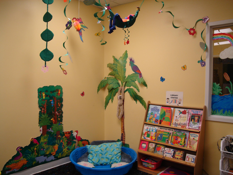 Class photos for Rainforest decorations
